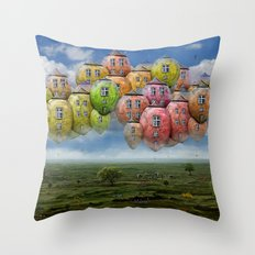 Himmelsreisen ! Throw Pillow