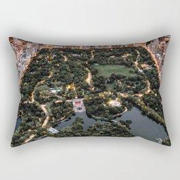 Central Park New York Rectangular Pillow