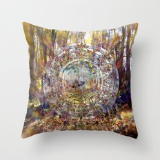 Deer Medicine Throw Pillow