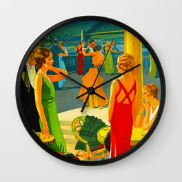 Vintage Sydney Australia Travel Wall Clock