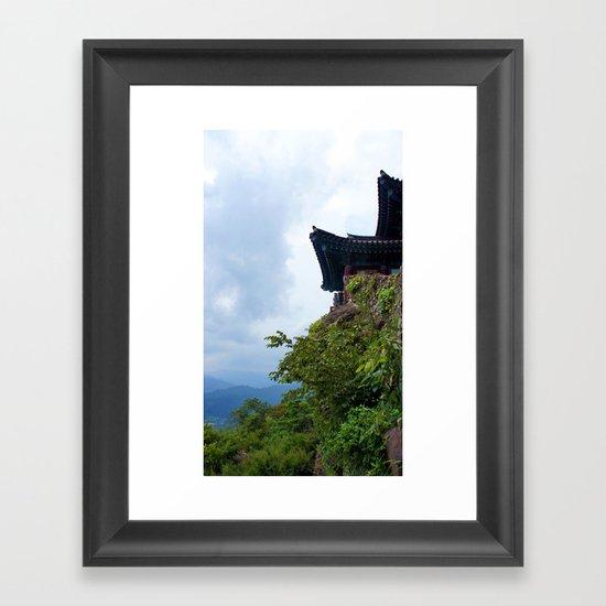 Temple Sasung 5 Framed Art Print