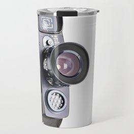 Retro hobbies movie camera Travel Mug