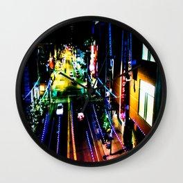 Fascination Street Wall Clock