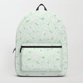 Leaves in Wintergreen Backpack