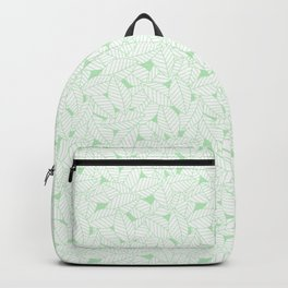 Leaves in Wintergreen Backpack