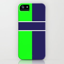 Team Colors...... 6 Lime green /navy iPhone Case