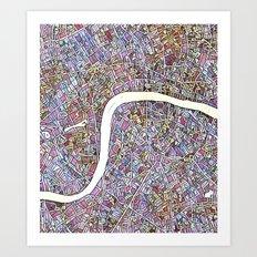 London Color Variation 1 Art Print