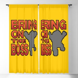 Bring On The Boss Blackout Curtain