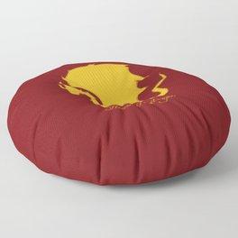 Distressed Pendragon Crest Floor Pillow