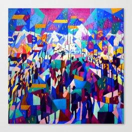 Gino Severini The Boulevard Canvas Print
