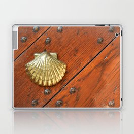 Gold shell Laptop & iPad Skin