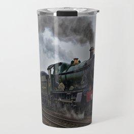 Rood Ashton Hall steam locomotive Travel Mug