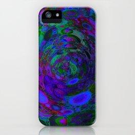 Purple Whirlpool iPhone Case