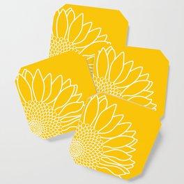Sunflower Cheerfulness Coaster