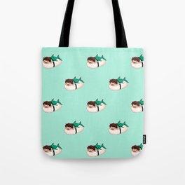 Whale Shark MerSushi Tote Bag