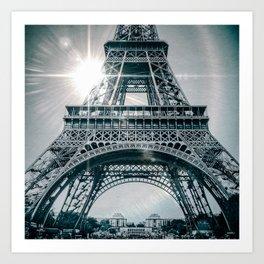PARISIAN FLARE Art Print