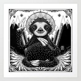 Son of Sloth Art Print