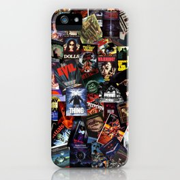 Classic Horror Movie Posters iPhone Case