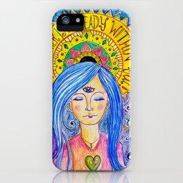 Ajna  iPhone Case
