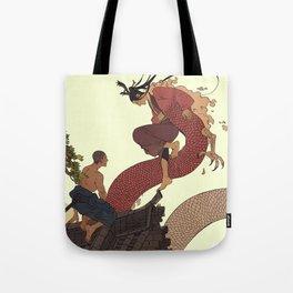 Tell a Dragon Truths Tote Bag