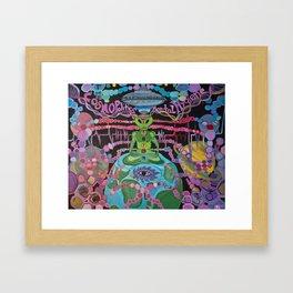 """""""Mental Hygiene"""" Framed Art Print"""