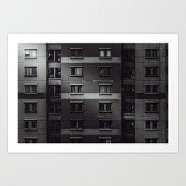 Surviving isolation Art Print