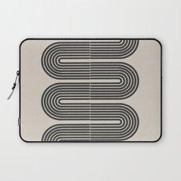 Geometric Mid Century Art Laptop Sleeve