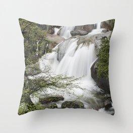 Veil of Water Throw Pillow