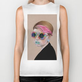 Pop Glasses Biker Tank