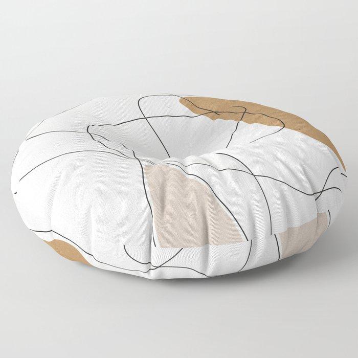 Thin Flow II Floor Pillow