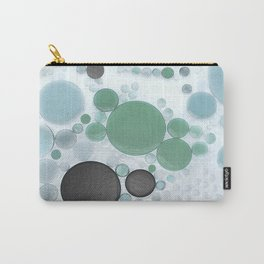 :: Overcast Day at the Beach :: Carry-All Pouch