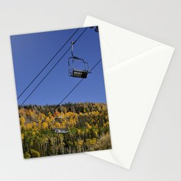 Autumn I - Brian_Head Ski_Resort, Utah Stationery Cards