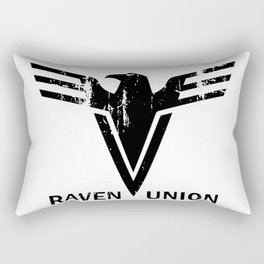 The Raven Union. Rectangular Pillow