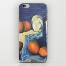 Complimentary Color Still Life iPhone Skin