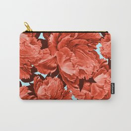 the big vermilion rose Carry-All Pouch