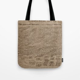 Declaration Tote Bag