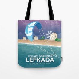 Lefkada, Windmill Beach (GR) Tote Bag