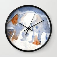belle Wall Clocks featuring Belle by KAZUMI