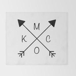 Kansas City x KCMO Throw Blanket