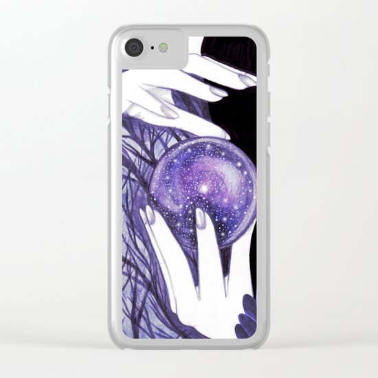 It's Written in the Stars Clear iPhone Case