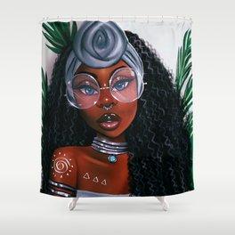 Fleur Noire Shower Curtain