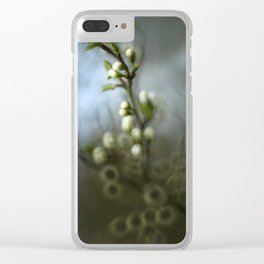 Apple blossom Clear iPhone Case