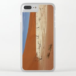 NAMIBIA ... Deadvlei IV Clear iPhone Case