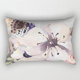 Flowers bouquet #55 Rectangular Pillow