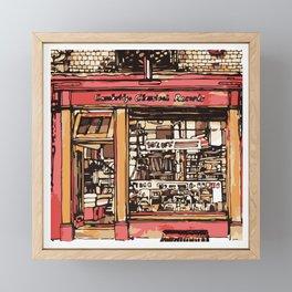 RECORDS Framed Mini Art Print