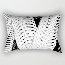 Type Composition. C Rectangular Pillow
