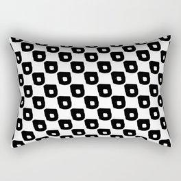 Abstract Hand Drawn Patterns No.1 Rectangular Pillow