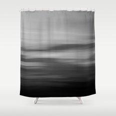Sea & Sky abstract Shower Curtain