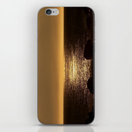 Bronze Sunset Reflection iPhone Skin