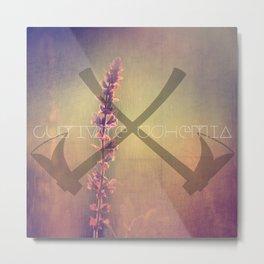 Ax Work Metal Print